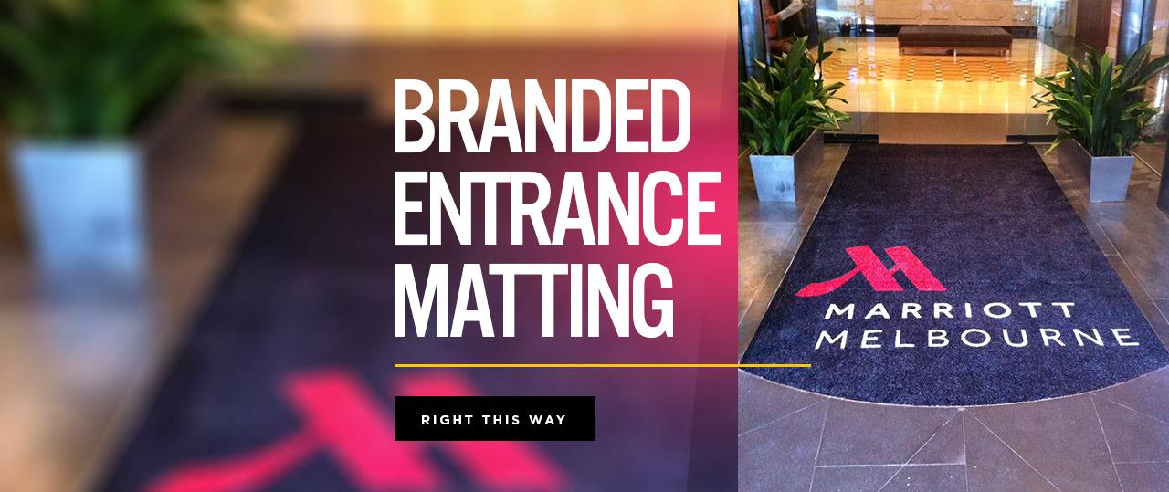 Branded Entrance Matting