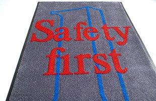 Logo Matting and Safety Message Mats