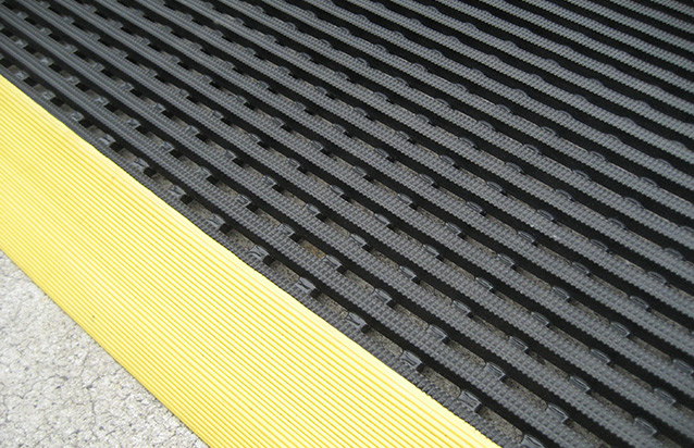 Cross Grip Rubber Matting