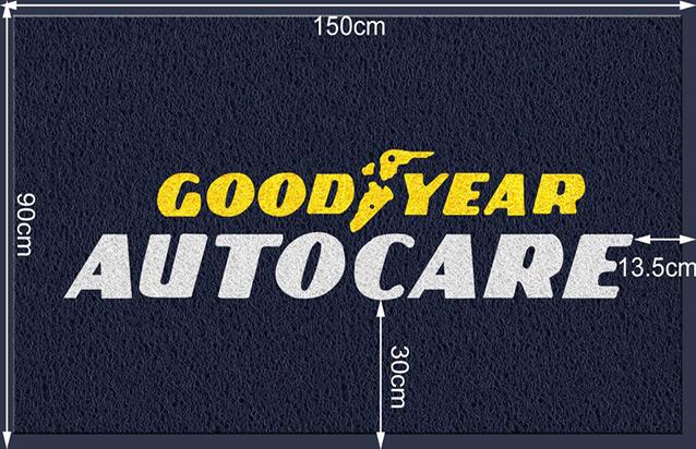 Goodyear Autocare Logo Mat