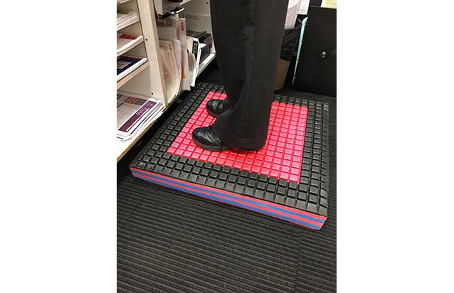 Power Pod Platform Mat