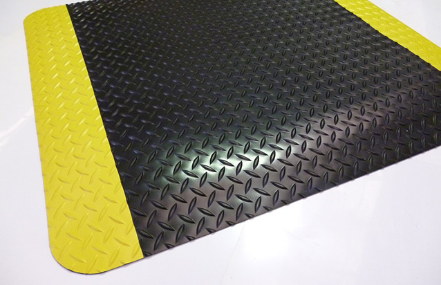 Safety Alert Diamond Spongecote Matting